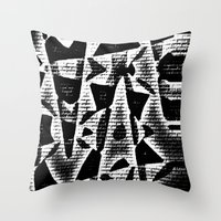 Chip on your Shoulder Throw Pillow