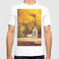 Autumn colors White Mens Fitted Tee SMALL