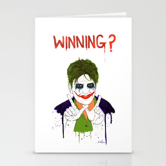 The new joker? Stationery Card
