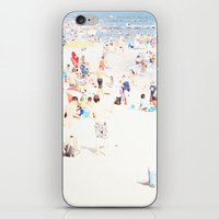 Blue Beach Brooklyn iPhone & iPod Skin