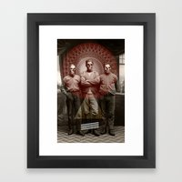 The Good, The Bad and The Dead Man Framed Art Print