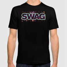 Swag Icon Black SMALL Mens Fitted Tee