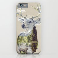 iPhone Cases featuring Mo'deer' Nature by dzeri29