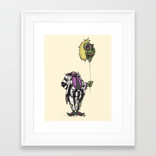 Zombie Juice Framed Art Print