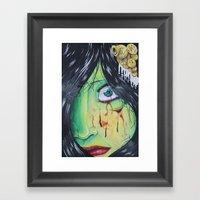 The accident  Framed Art Print