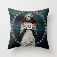 MOTHER OF MERCY Throw Pillow