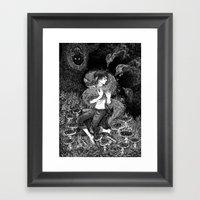 Magic Fox Framed Art Print