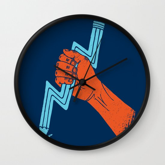 Graphite For Your Right Wall Clock