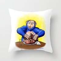 I Don't Need These Anymore, Right? Throw Pillow