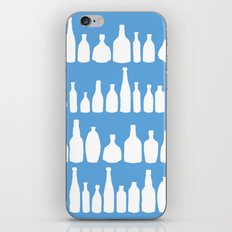 Bottles Blue iPhone & iPod Skin
