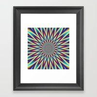 Red Blue And Yellow Supe… Framed Art Print