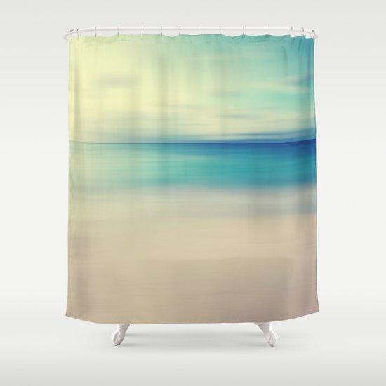 Beach Shower Curtain by ALLY COXON | Society6