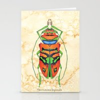 Sternotomis Imperialis Stationery Cards