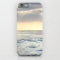 California Sunset over the Pacific Ocean iPhone 6 Slim Case