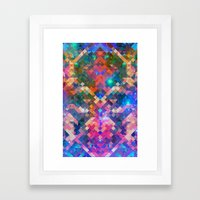 Geocosmic Framed Art Print