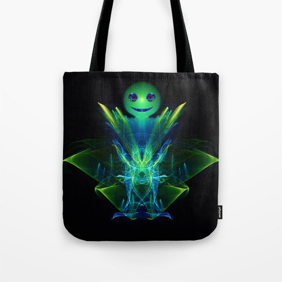 The Little Green Monster Tote Bag