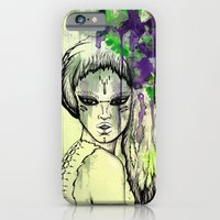 iPhone & iPod Case featuring Tribal Beauty 1 by Katya Zorin
