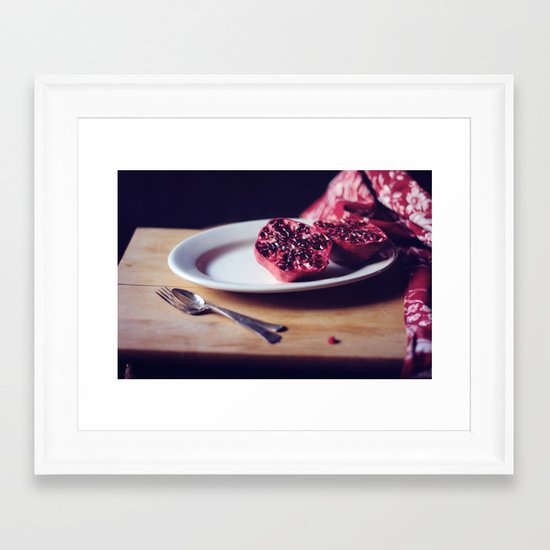 pomegranate, 2 Framed Art Print