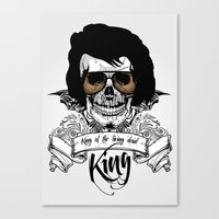 Elvis Presley | The King of the Living Dead Canvas Print