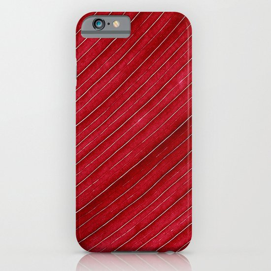 red leaf I iPhone & iPod Case
