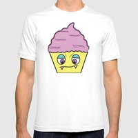 Cupcake Monster!  Mens Fitted Tee White SMALL