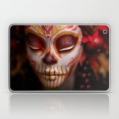 Crimson Harvest Muertita Detail Laptop & iPad Skin