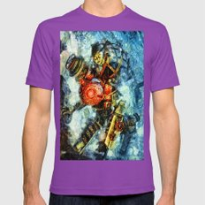 Bioshock Big Sister Mens Fitted Tee Ultraviolet SMALL