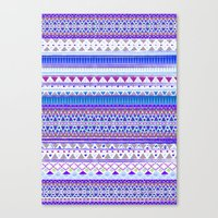 BLUE CHENOA  Canvas Print