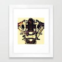 THEMASK Framed Art Print