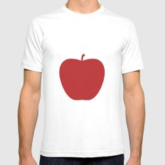 Apple 27 Mens Fitted Tee White SMALL