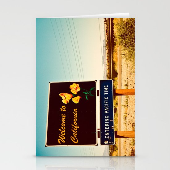 Welcome to CA Stationery Card