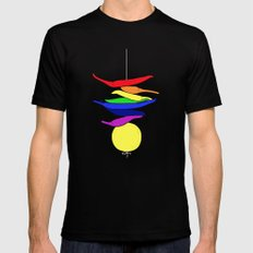 Totka - India T-shirt SMALL Black Mens Fitted Tee
