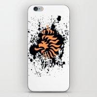 knvb royal lion iPhone & iPod Skin