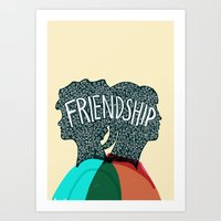 Friendship Grows Art Print