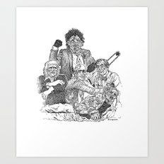 Texas Chainsaw Massacre 2 Art Print