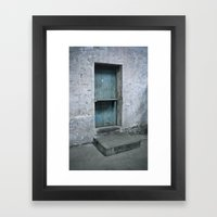 What's Behind The Old Bl… Framed Art Print