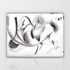 Silhouette Laptop & iPad Skin