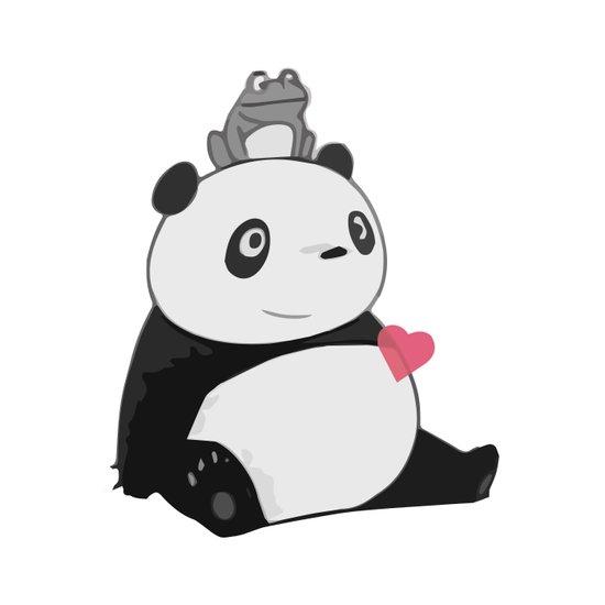 Panda 3 Art Print