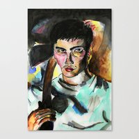 Donnie Darko Portrait Canvas Print