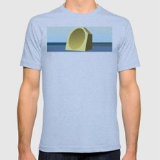 Mirror on the Wall Mens Fitted Tee Athletic Blue SMALL