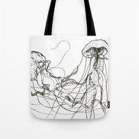 Jellyfishes Tote Bag