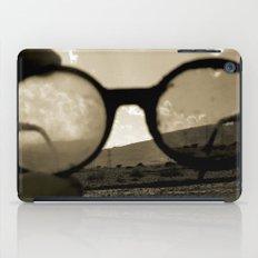 Glasses on the Horizon iPad Case