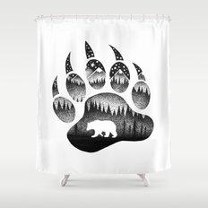 SPIRIT BEAR Shower Curtain