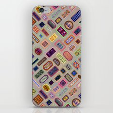 Multi color melody light iPhone & iPod Skin