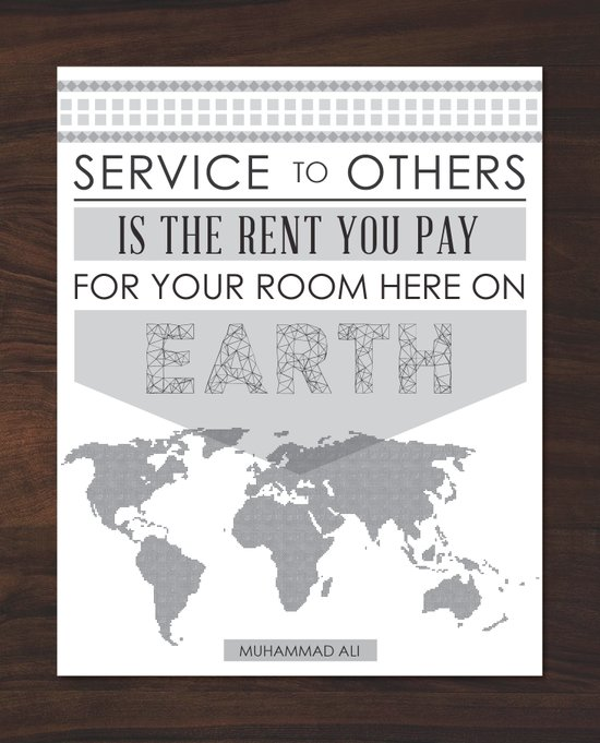 Service to Others Art Print