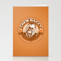 Chew-Baccy (Wookie Chewi… Stationery Cards