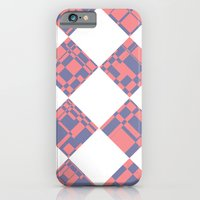 iPhone & iPod Case featuring Distorted Checkers by zucker photo