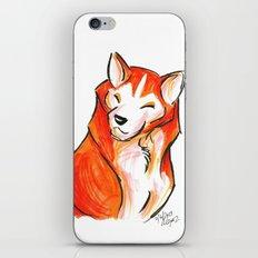 Brush Breeds-Akita iPhone & iPod Skin