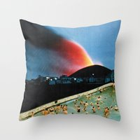 Quantum Leap Space Throw Pillow