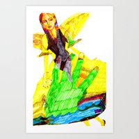 Angel of Color Art Print